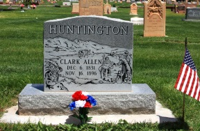 Clark Allen Huntington gravestone.jpg