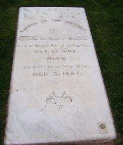 Eliza R. Snow gravestone.jpg
