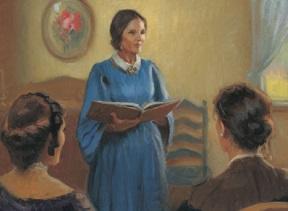 Eliza R. Snow teaching.jpg