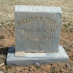 William Henry Deuel gravestone.jpg