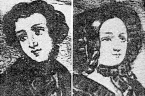 Edmund and Magdalena Durfee