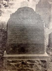 Lorenzo D. Barnes gravestone.jpg