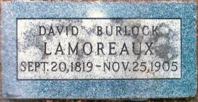 David Burlock Lamoreaux gravestone.jpg