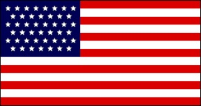 United States 45 Star Flag