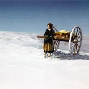 Handcart girl by Al Rounds.jpg