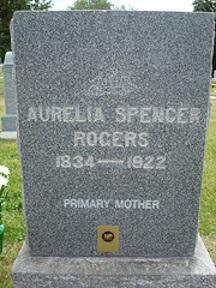 Aurelia Read Spencer Rogers gravestone.jpg