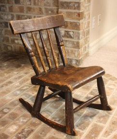 Benjamin Frederick Blake chair for a child.jpg