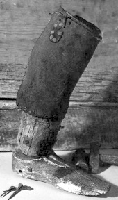 John Rowe Moyle wooded leg.jpg