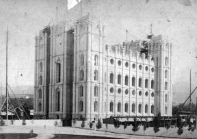 Salt Lake Temple under Construction 1880's.jpg