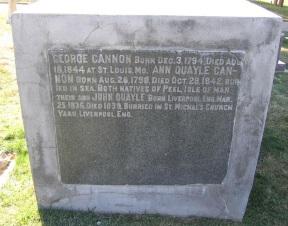 Memorial stone in St. Louis