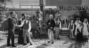 Joseph Smith greeting boat in Nauvoo.jpg