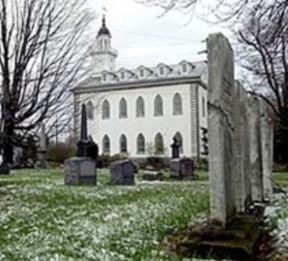 Kirtland Temple with cemetery in forground.jpg