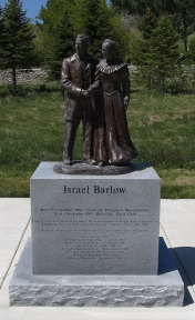 Barlow statue at  This is the Place State park
