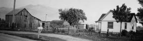 Robert Baird Home and barn in Ogden
