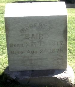 Robert Erwin Baird gravestone.jpg
