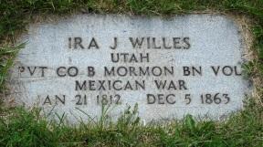 Ira J. Willes gravestone.jpg