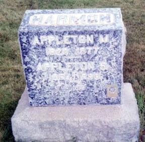 Appleton Milo Harmon gravestone.jpg