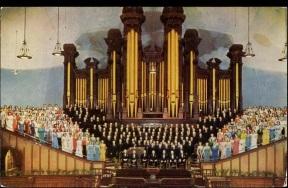 Old Choir Postcard
