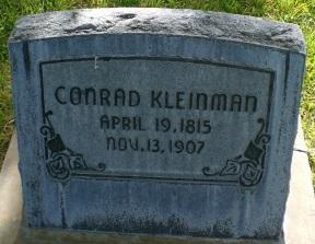 Conrad Kleinman gravestone.jpg