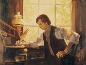 Joseph Smith writing.jpg