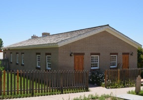 Replica home at This is the Place State Park