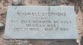 Roswell Stevens, Jr. gravestone.jpg