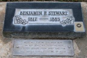 Benjamin Franklin Stewart gravestone.jpg