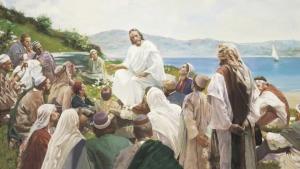 Jesus teahing by the sea.jpg