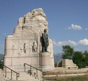 Mormon Battalion Statue - Utah Capital grounds.jpg