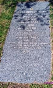 Clarissa Decker Young gravestone.jpg