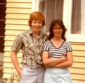 December 1981 - Sean Caldwell and Vicki Clarke - cropped.jpg