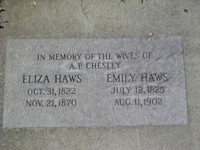 Alexander Philip Chesley wives graves.jpg