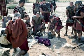 crucifixion of jesus - soldiers gamble.jpg