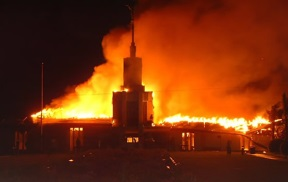 Apia Samoa Temple burns.jpg