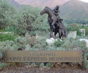 Pony Express monument.jpg