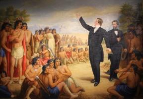 Joseph Smith teaching the Lamanites.jpg