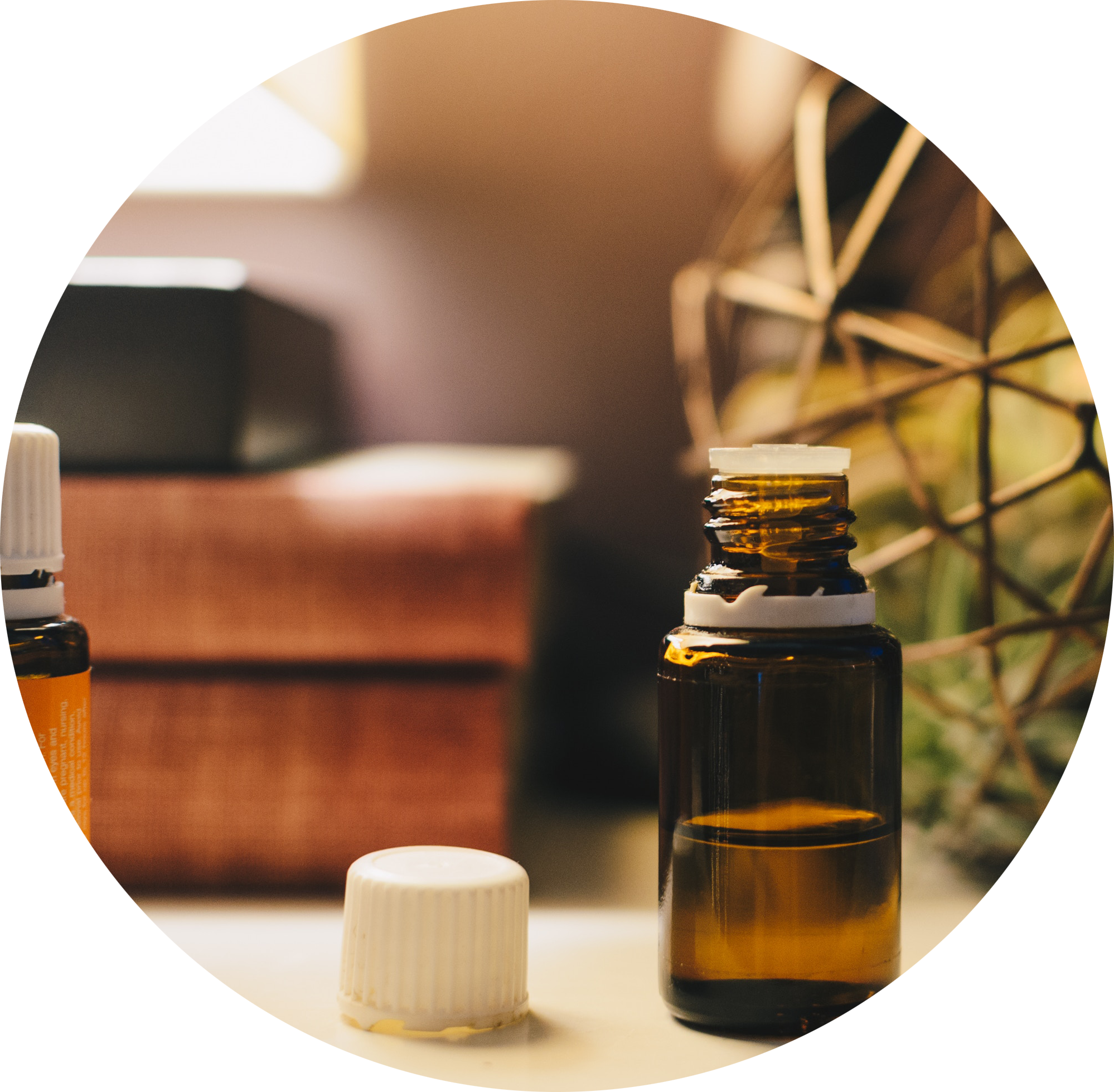 Aromatherapy - Aromatherapy uses essential oils topically, which are then absorbed or inhaled, creating subtle changes in the brain. I have studied the use of essential oils to enhance acupuncture treatments and use high-quality essential oils in the practice.