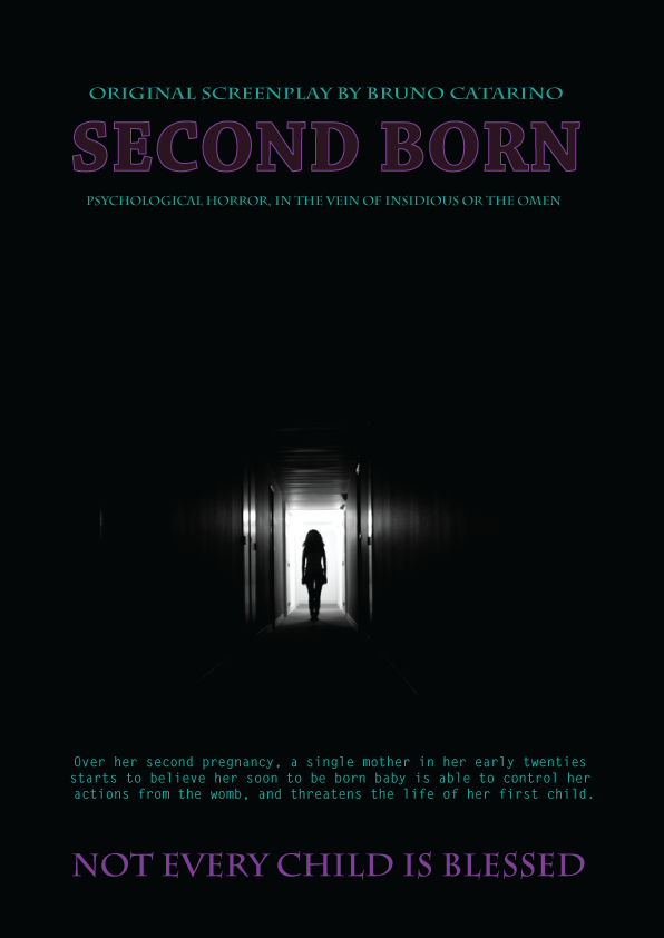 SECOND BORN   Psychological Horror.     Length: 132 pages.