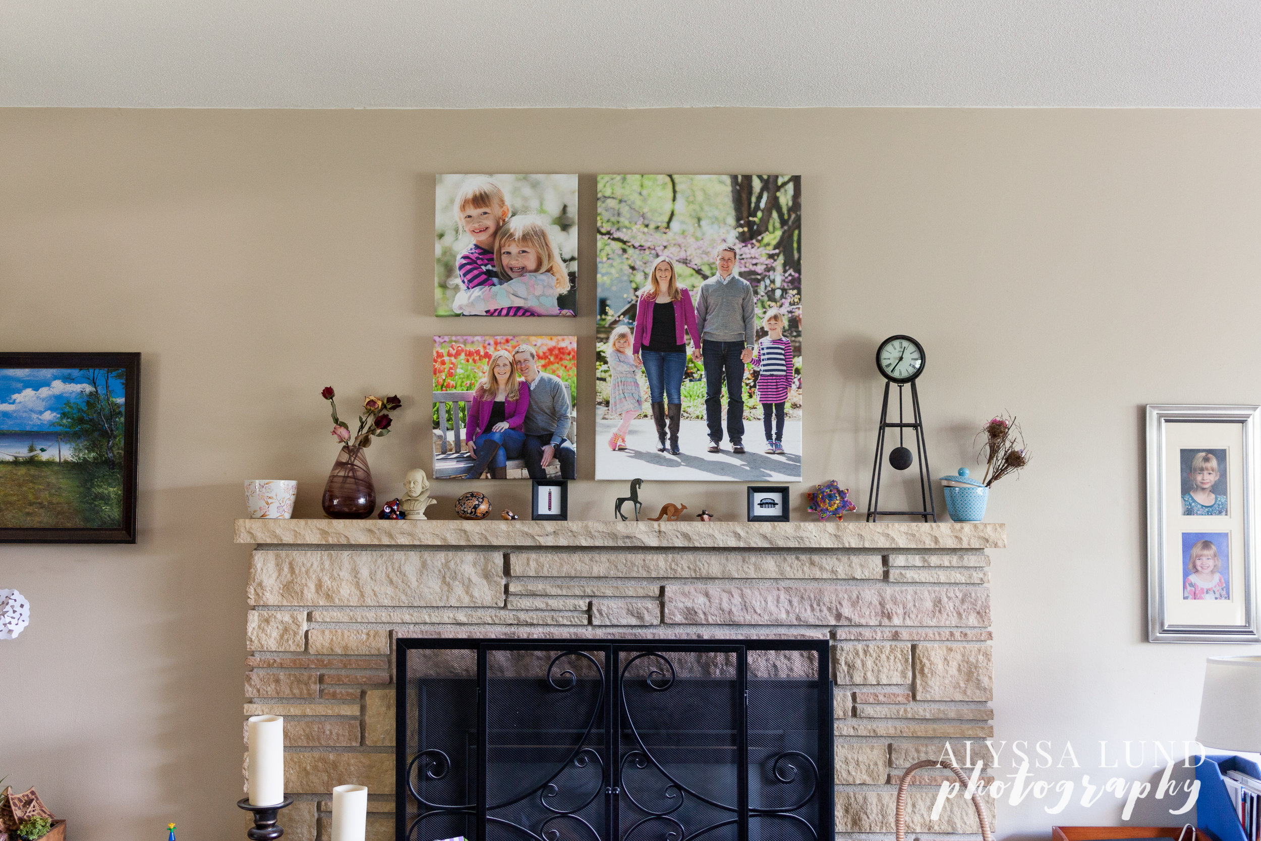 engagement-picutres-on-the-wall