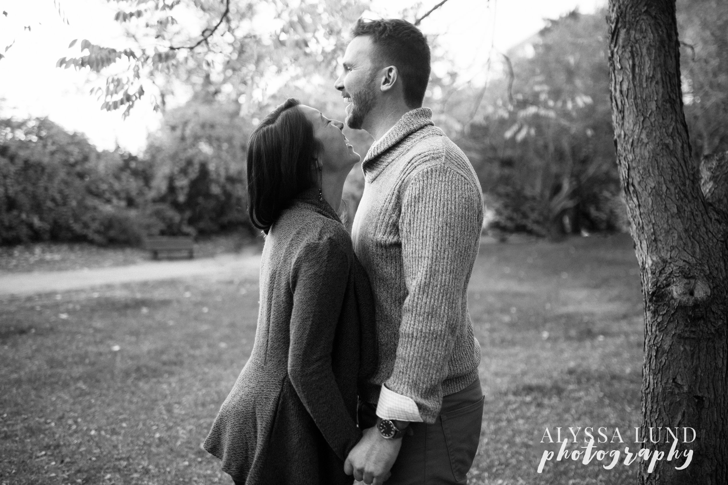 Minneapolis engagement session at the stone arch bridge black and white