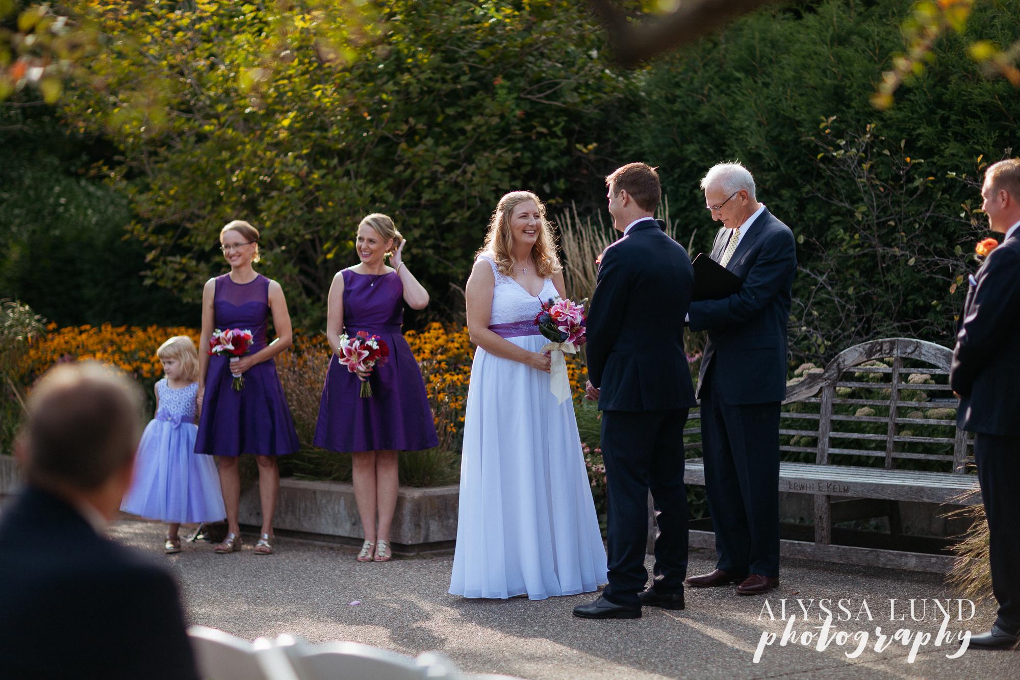 Minneapolis Outdoor Wedding by Alyssa Lund Photography