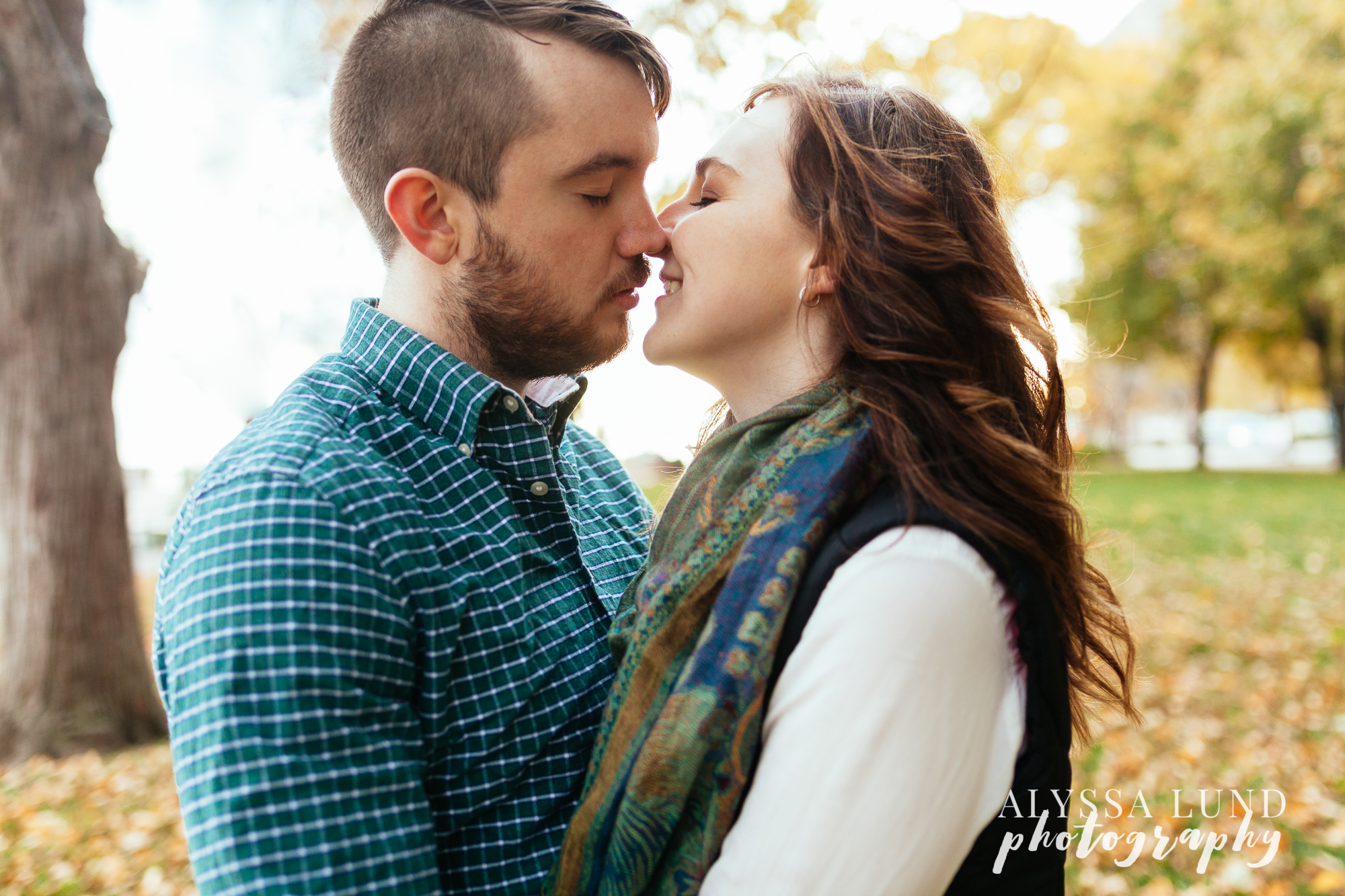 St. Paul Fall Engagement Session 4