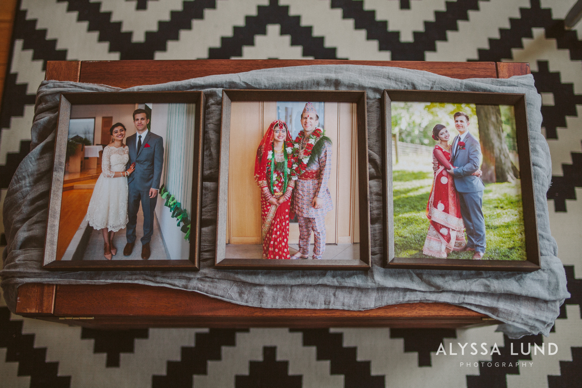 Frame your favorite wedding photos with Alyssa Lund Photography