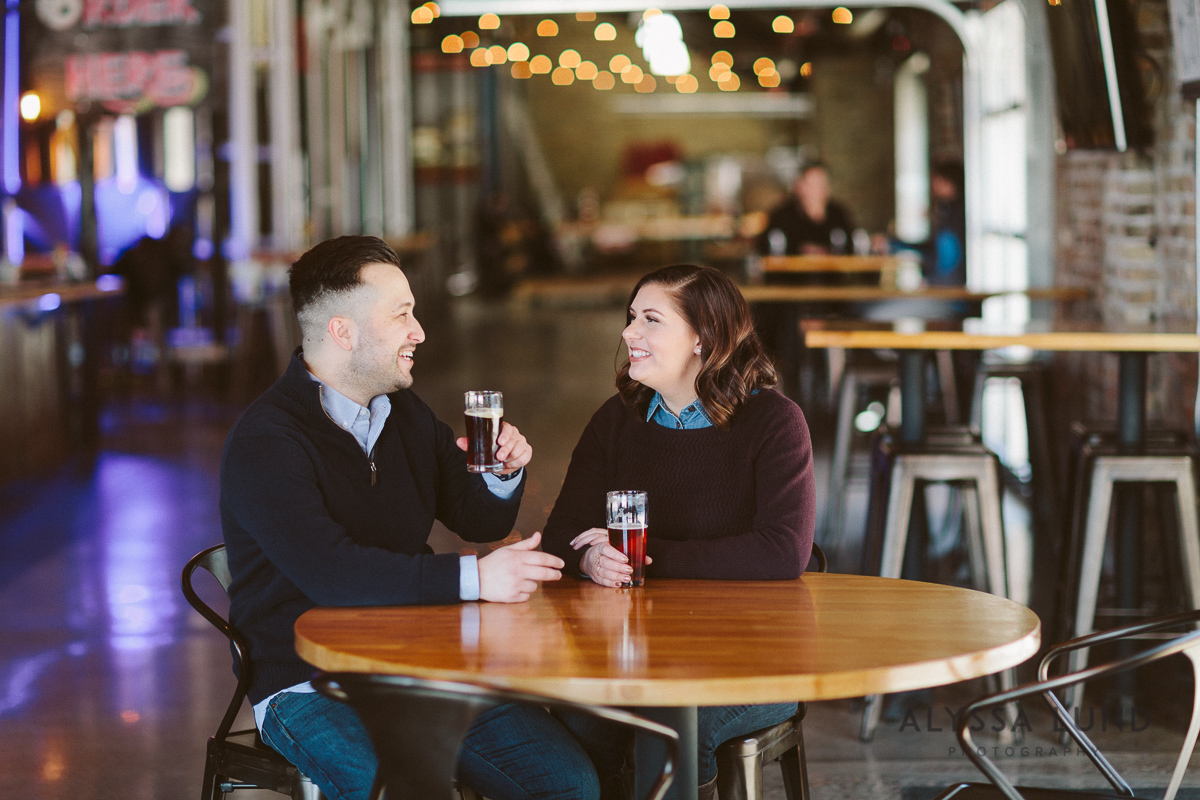 St. Paul Engagement Session in a Brewery-01.jpg