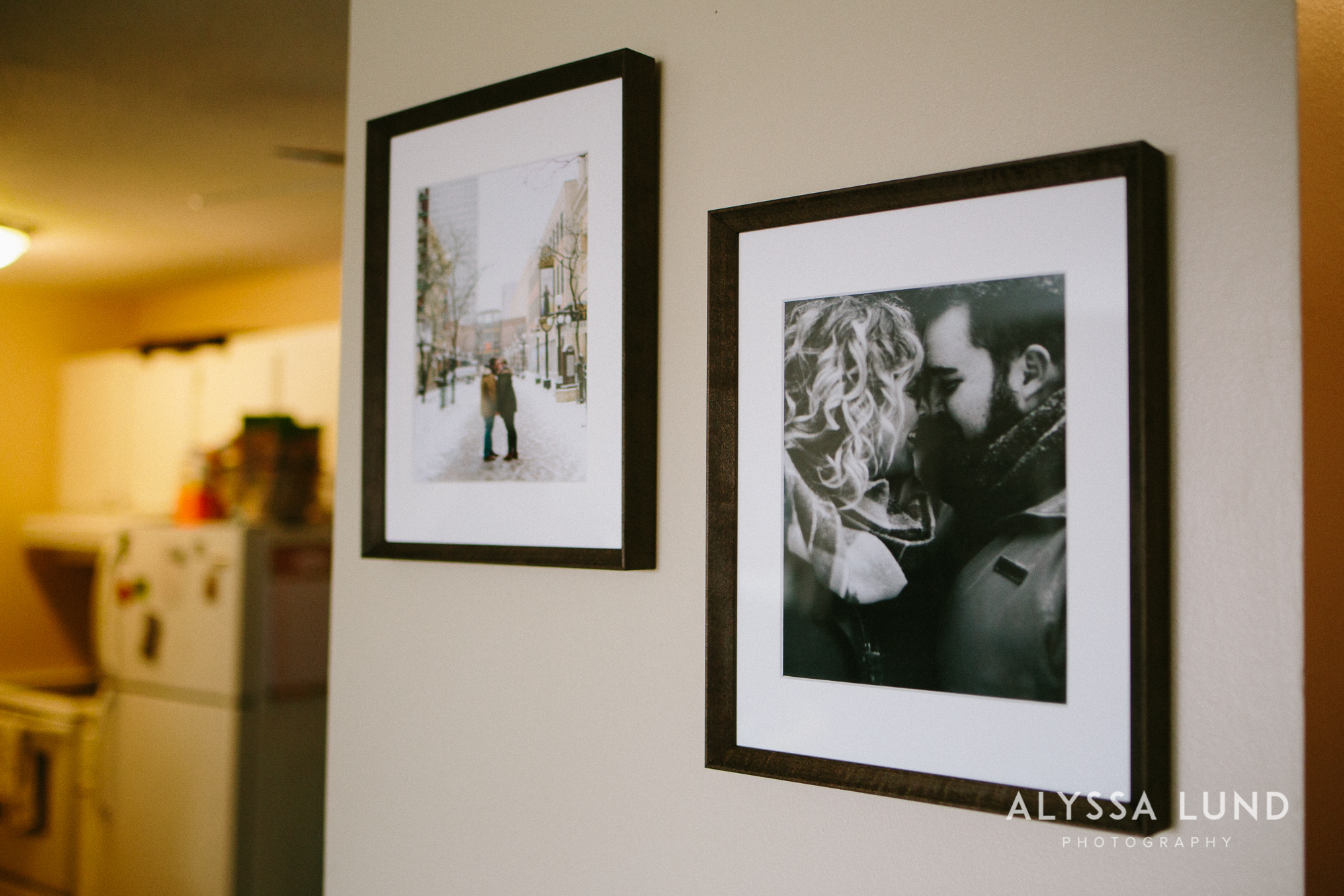 What to do with engagement portraits wood frames by Alyssa Lund Photography Minneapolis.jpg
