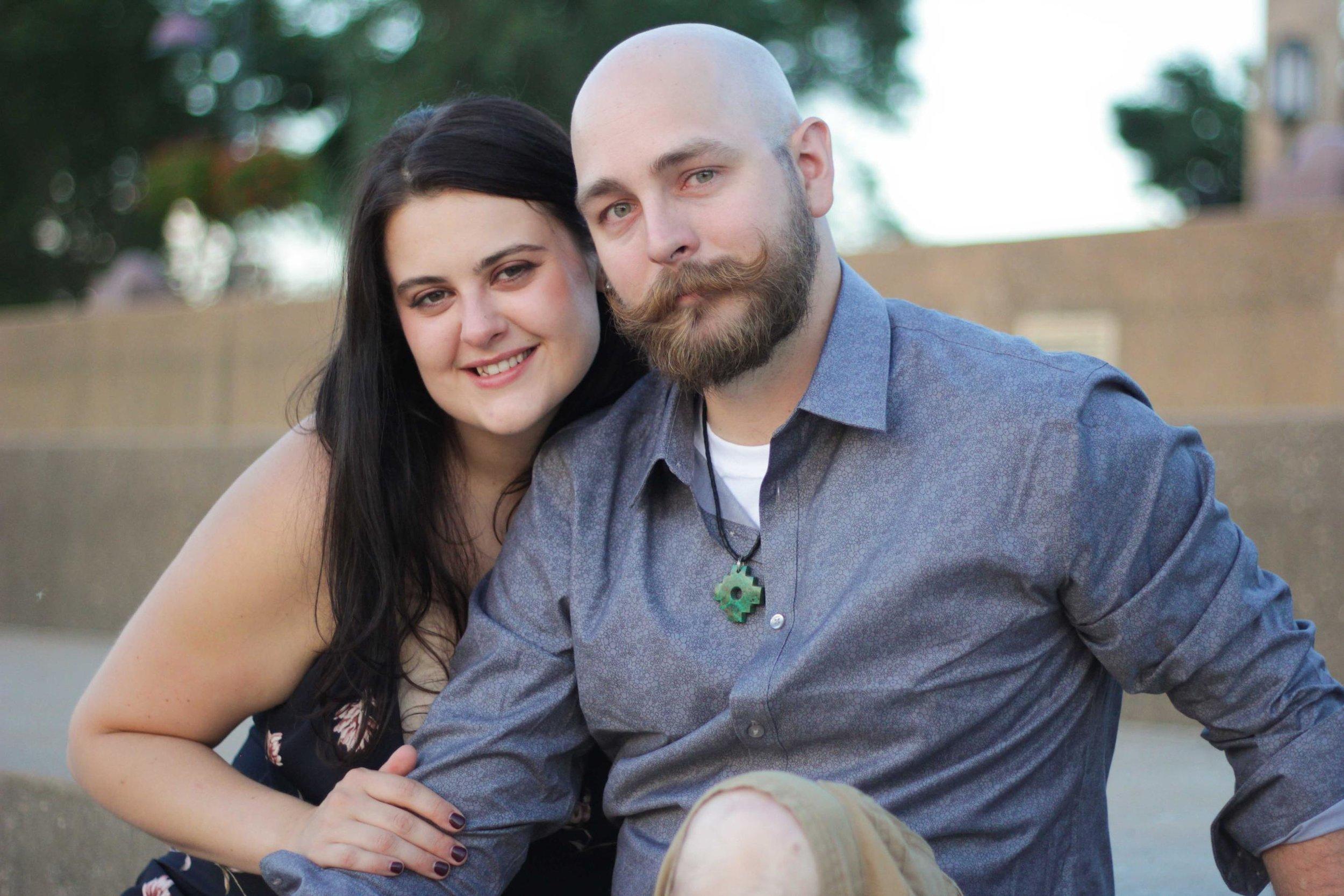 Nicole and Matt Engagement by Emma Danskin Robinson