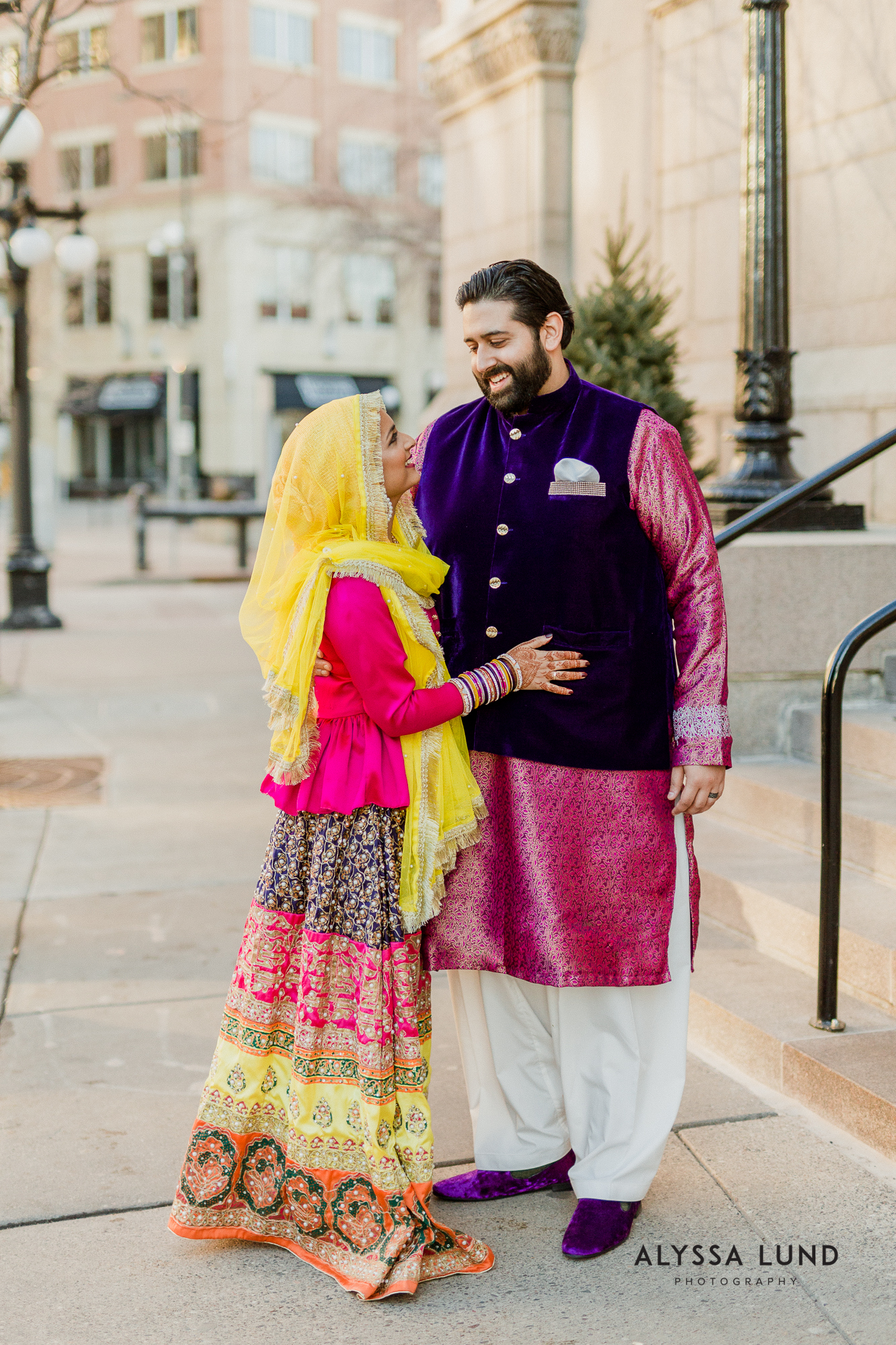 Modern muslim wedding photography Landmark Center-8.jpg
