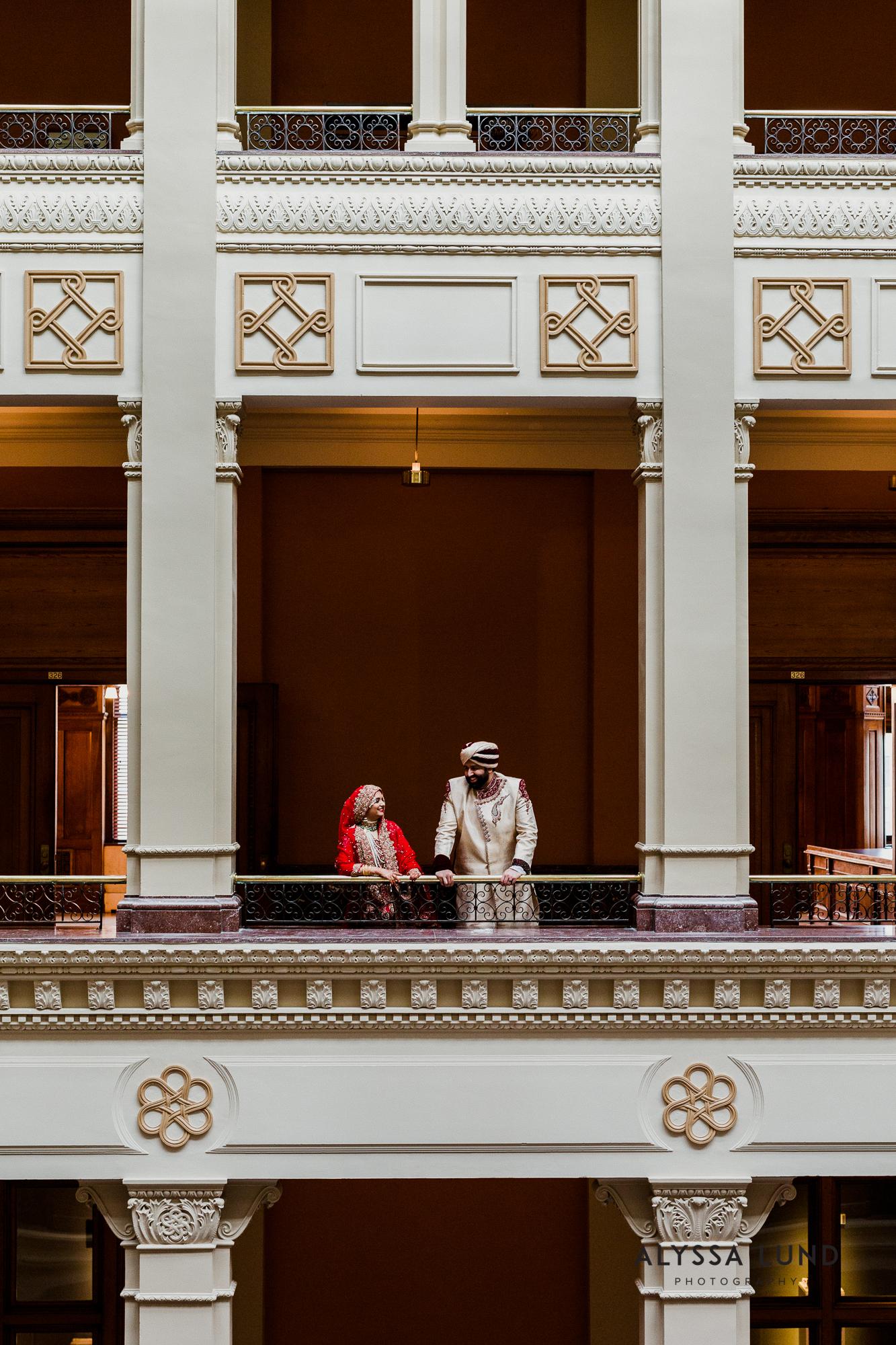 Modern muslim wedding photography Landmark Center-30.jpg