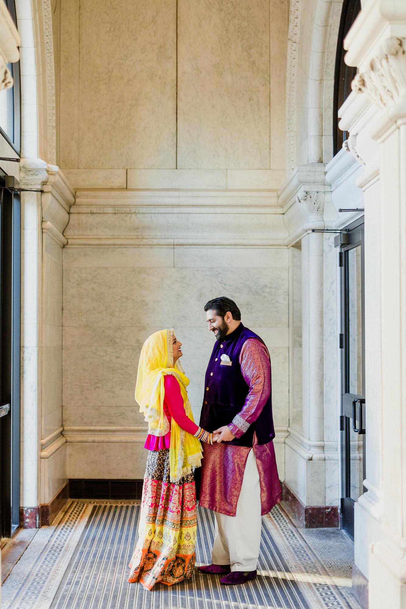 Modern muslim wedding photography Landmark Center-3.jpg