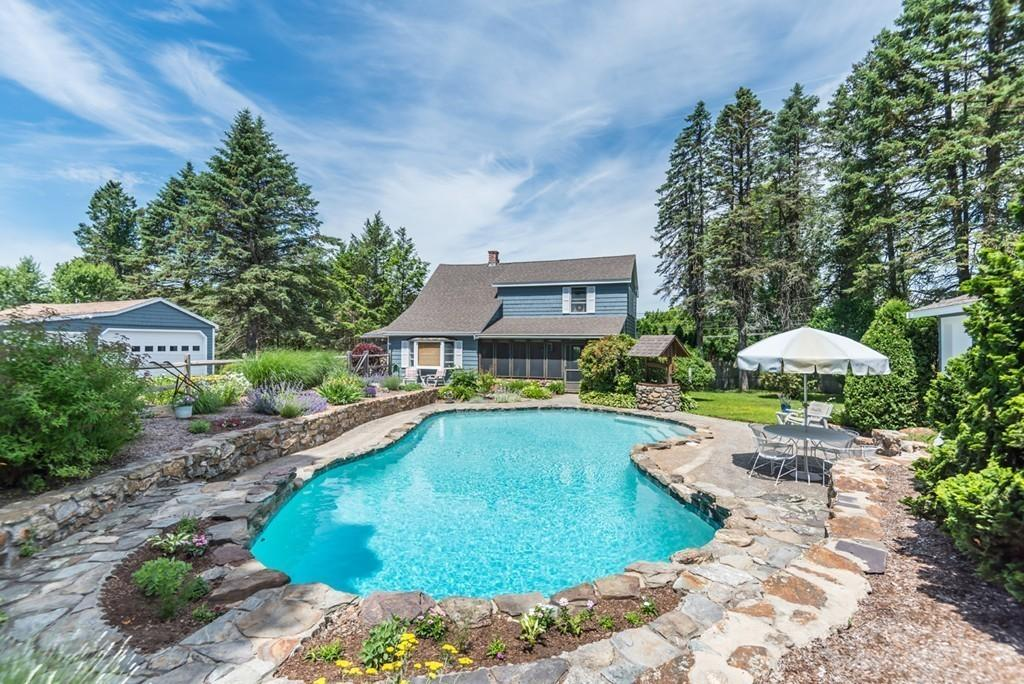 422 High Plain Rd Andover - $599,900 - This 3 bedroom, 2 bathroom, updated home features picturesque landscaping and is located in the highly sought after High Plain/Wood Hill School district.